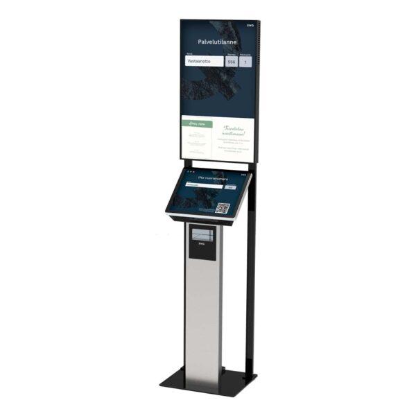 EWQ Touch-lippuautomaatti ja DS-näyttö
